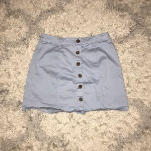 Forever 21 light blue skirt
